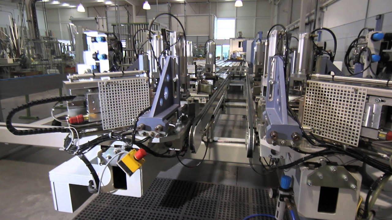 Fabrica automatizada puertas ventanas de aluminio y pvc youtube - Fabrica de floreros de vidrio ...