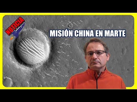 China publica nuevas imágenes de Marte tomadas por la Tianwen-1