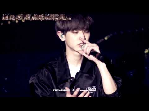 [Vietsub] 150313 EXO - PROMISE (Rap part)(Chanyeol focus) - THE EXO'LUXION IN SEOUL {YeolBest!}