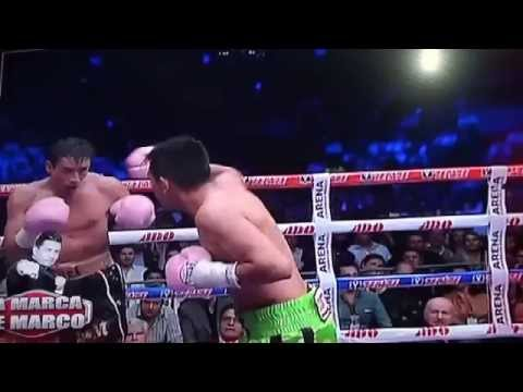 VIDEO BOX RAFAEL MARQUEZ VS CRISTIAN MIJARES