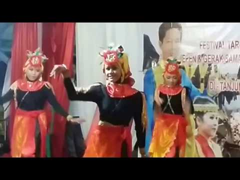Juara 1 Lomba Tari Kreasi Kabupaten Bulungan -  Lestari