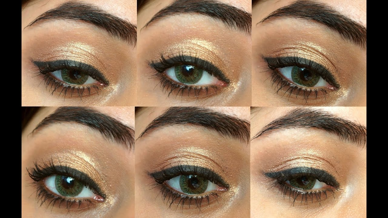 Quick Makeup For Wedding Party : 5 Minute Party Eye Makeup Tutorial corallista - YouTube