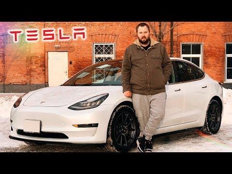 Распаковка Tesla Model 3 - как iPhone, только машина...