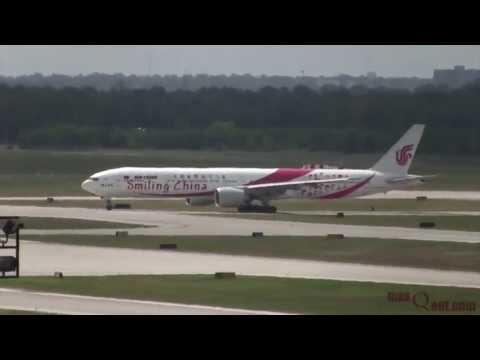 Air China Inaugural Arrival at Houston IAH