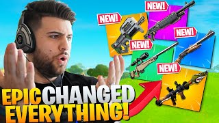 Epic Changed Almost EVERY Weapon Without Telling You! (Fortnite Battle Royale Chapter 2)