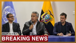 Ecuador's Moreno, indigenous groups reach deal to end protests