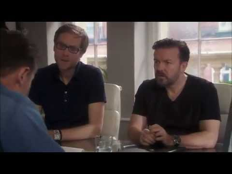 Liam Nesson's cameo in the Ricky Gervais sitcom 'Life's Too Short' is one of the funniest things I've ever seen