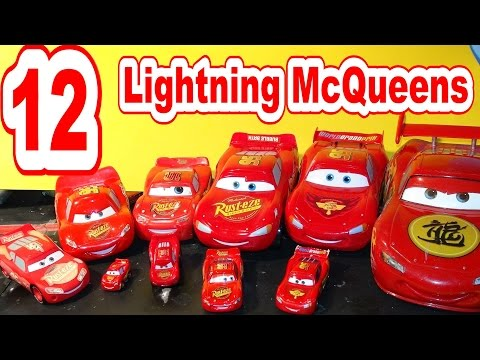 Disney Pixar Car Collection of Lightning McQueen Toys, a new member of the Club