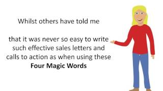 Double Your Sales success with Dee's Four Magic Words