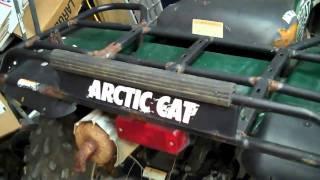 Arctic Cat 500 4x4- Walk around - New Project