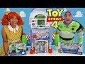 Toy Story 4 Toy Party- Gabby Gabby Vs. Buzz Lightyear !  || Toy Review || Konas2002