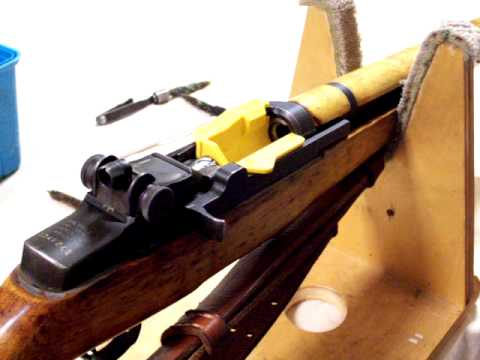 The Original M1 Buddy, M1 Garand Cleaning Port