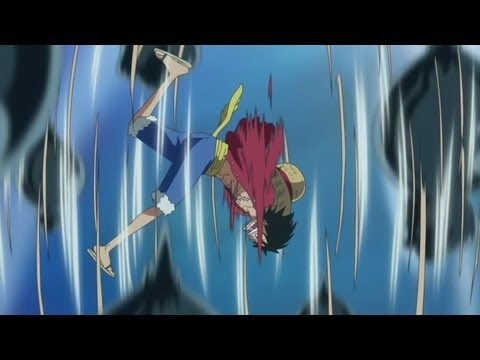 Luffy Vs Hody - Gomu Gomu No Elephant Gatling !! [hd] video