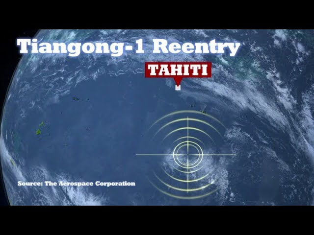 Chinese space station Tiangong-1 burns up in atmosphere