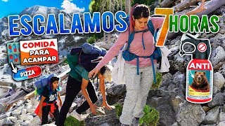 ESCALAMOS LA MONTAÑA MÁS ALTA  PARA INTENTAR ACAMPAR | POLINESIOS VLOGS