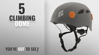 Top 10 Climbing Dome [2018]: Black Diamond Half Dome Climbing Helmet - Limestone- Small/Medium