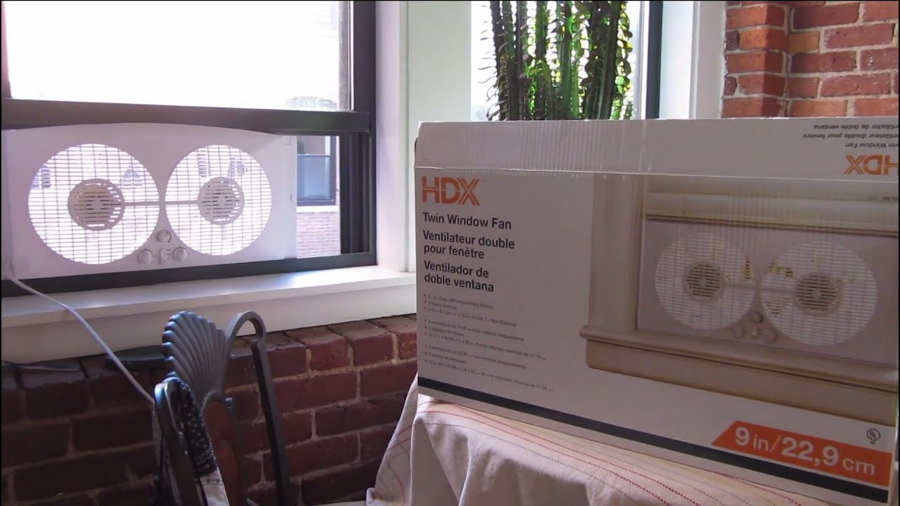 Home Depot Hdx Twin Window Fan Review In 1080p Hd Youtube