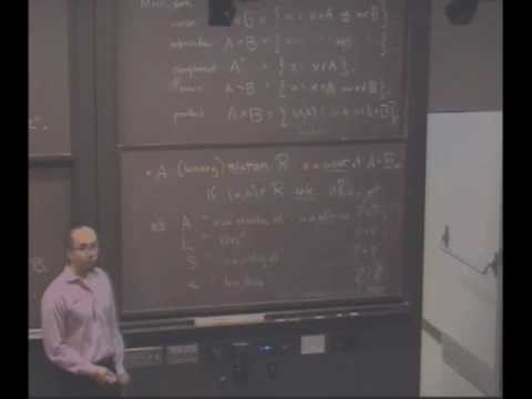 Real Analysis, Lecture 1: Constructing the Rational Numbers