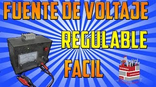 Fuente regulable Básica con LM317T | Electronica