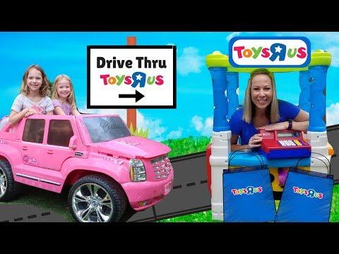 Drive Thru Toys R US Store PRANK Kid Video !!!