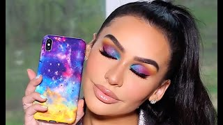 GALAXY INSPIRED MAKEUP TUTORIAL | FULL FACE