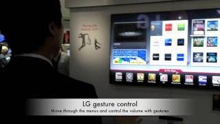 CES 2012 TV Gesture, voice control