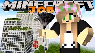 Minecraft Jobs-Little Kelly Adventures- WORKING AT A HOTEL! w/ Little Carly