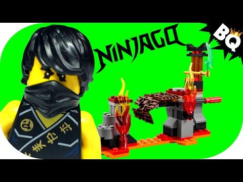 LEGO Ninjago Lava Falls 70753 Build & Review