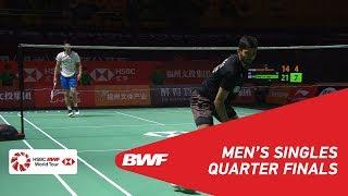 QF | MS | KIDAMBI Srikanth (IND) [5] vs CHOU Tien Chen (TPE) [4] | BWF 2018