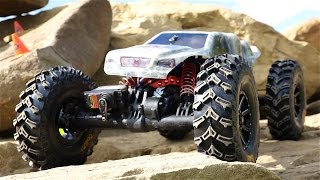 Do They Work? Rock Crawling Tricks - RC4WD Genius Tires w/ Ballistic Bead Locks | RC ADVENTURES