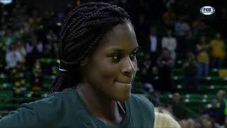 #Baylor Lady Bear coach Kim Mulkey, players Kalani Brown and Chloe Jackson interview