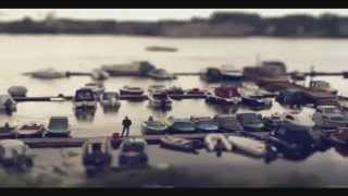 Архангельск Russian toy city Arkhangelsk tilt-shift part 2 (Sony)