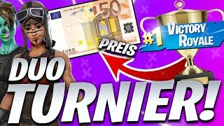 🔴CUSTOM GAMES TURNIER DUO ! | JETZT 50€ TURNIER! LETZTE CHANCE| Fortnite Live Deutsch