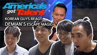 Download Lagu KOREAN GUYS REACT DEMIAN'S MAGIC IN AMERICA'S GOT TALENT Gratis STAFABAND