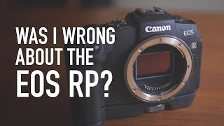 Canon EOS RP Review - Was I wrong about this camera?