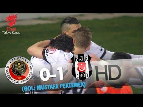 Gençlerbirliği: 0 - Beşiktaş: 1 | Gol: Mustafa Pektemek