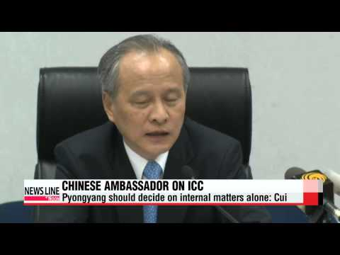 Chinese ambassador to U.S. criticizes Western efforts to try North Korea at ICC