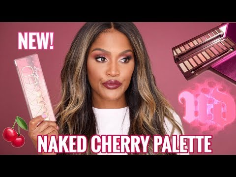 NEW URBAN DECAY NAKED CHERRY COLLECTION REVIEW 2018