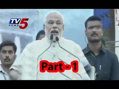 Narendra Modi makes victory speech in Vadodara Part - 1
