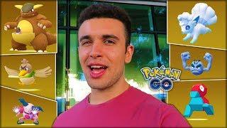 WHAT ARE THE CHANCES OF HATCHING REGIONAL POKÉMON? (Pokémon GO)