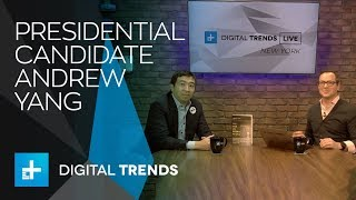 Presidential candidate Andrew Yang talks A.I. and a universal basic income