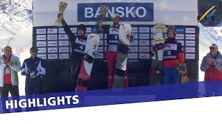 Pierre Vaultier with his season's first in Bansko SBX Sprint | Highlights