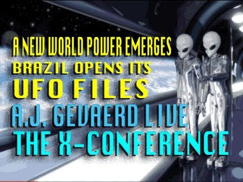 A New World Power Emerges for UFO Disclosure - AJ Gevaerd LIVE at The X-Conference