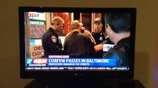 Po Poes Take James Smith Away During Baltimore Chimpout