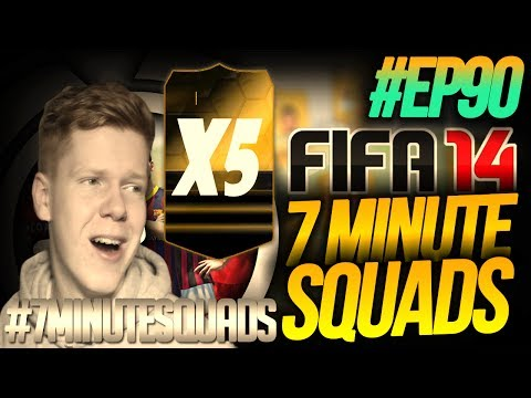 NEXT GEN FIFA 14 ULTIMATE TEAM | 7 Minute Squads #EP90 - YES OR NO!?