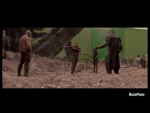 """Guardians Of The Galaxy"" Outtake Reveals A Surprising Dance Off"