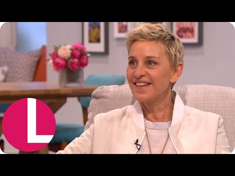 Ellen DeGeneres Exclusive On Finding Dory, Wimbledon And The Oscars | Lorraine