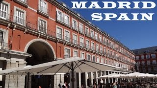Madrid in Spain tourism - Madrid España Turismo - Spanish capital travel video film