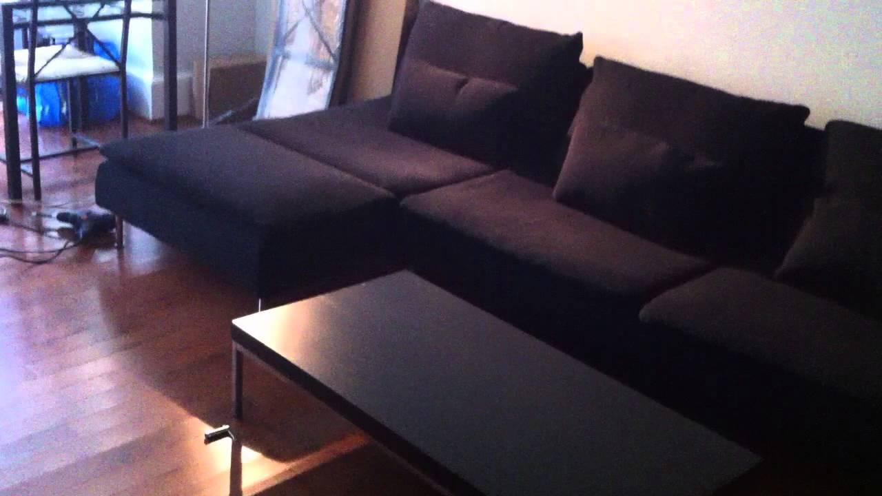 Ikea sofa assembly service video in arlington va by for Canape ikea soderhamn