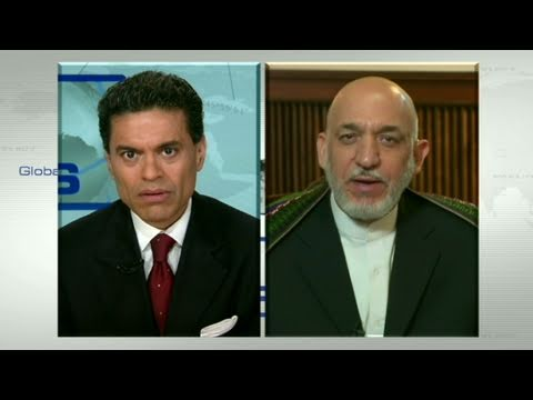 CNN: Afghan President Hamid Karzai discusses U.S. troop withdrawals